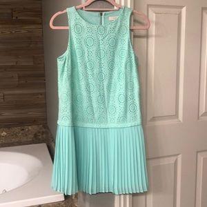 Sleeveless dress.  Perfect for summer!